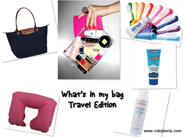 Video TAG:: What's in my Bag Travel Edition