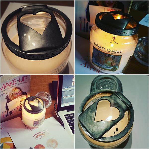 Illuma-Lids, coperchi decorativi per le Yankee Candle che regolano la fiamma e migliorano la distribuzione della fragranza