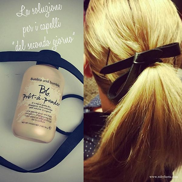 """Prêt-à-Powder di Bumble and Bumble; la soluzione per i capelli """"del secondo giorno"""""""