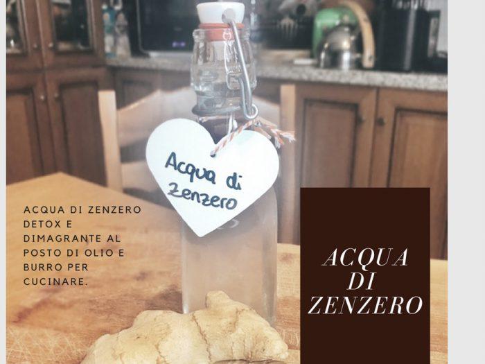 Food l 39 acqua di zenzero fai da te per cucinare e for Cucinare zenzero